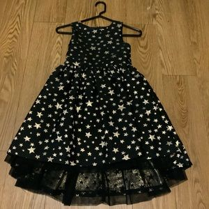 Black & Gold Star Dress